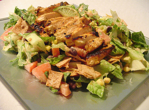 Santa Fe Chicken-Black Bean Salad