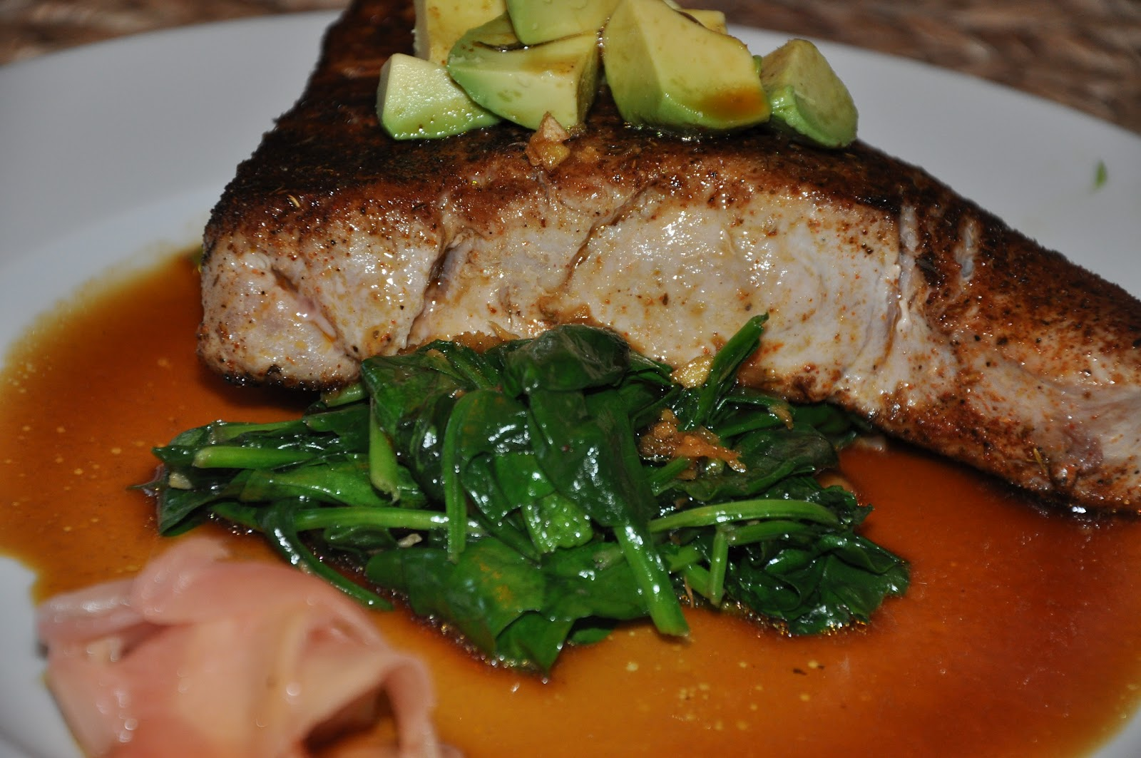 Sauteed Tuna Steaks With Orange-Jalapeno Relish