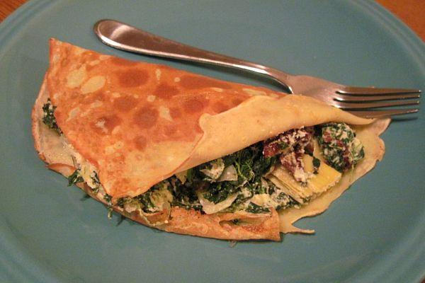 Savory Onions and Spinach
