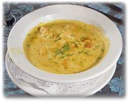 Scallop Bisque