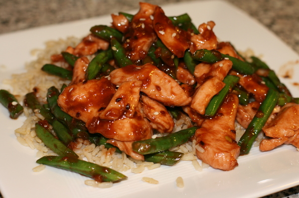 Sesame & Ginger Chicken