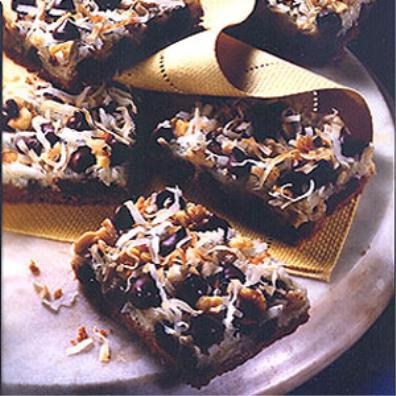 Ingridients of Seven Layered Magic Cookie Bars: