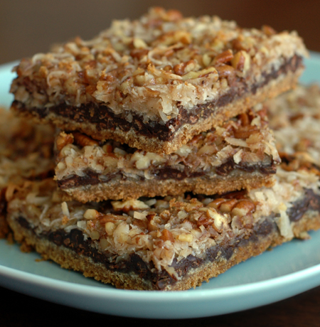 Seven Layered Magic Cookie Bars