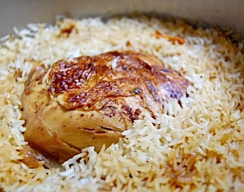 Shabbat Chicken and Rice All-In-One
