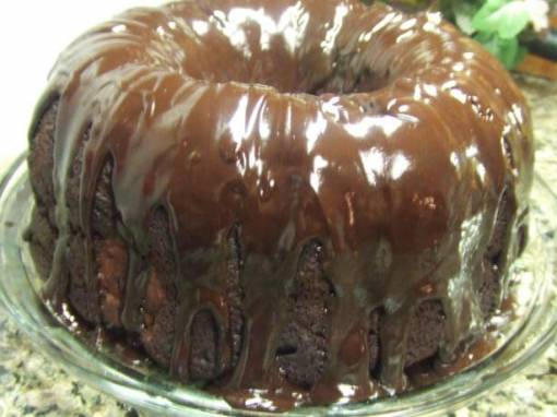 Shiny Kahlua Chocolate Icing