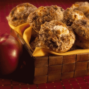 Shredded Apple Muffins