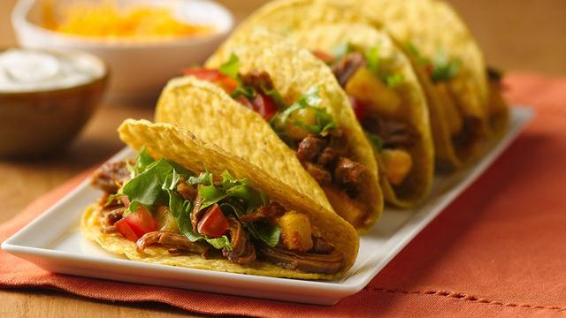 Shredded Pork Taco Filling