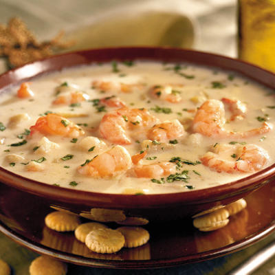 Shrimp and Cream Cheese Soup