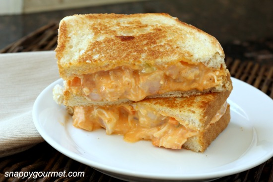 Shrimp Cheese Sandwich