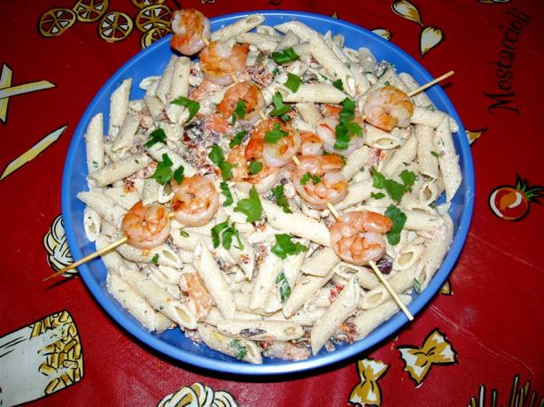 Shrimp-Tomato Pasta Salad