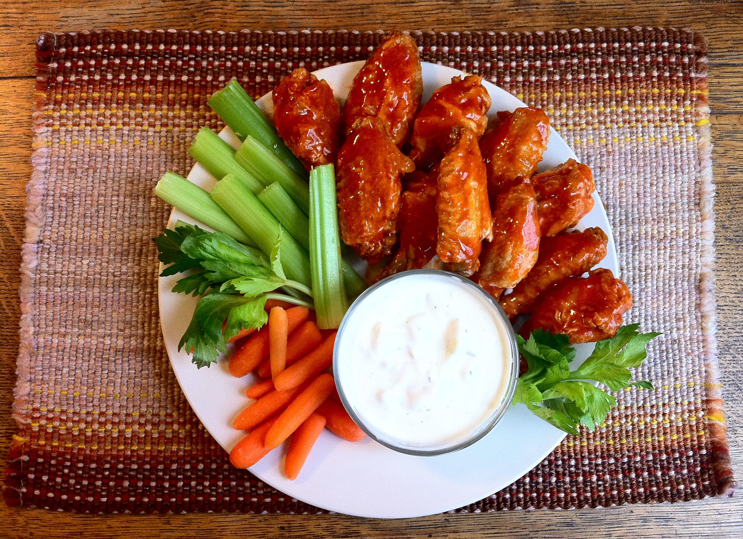 Simple Boil and Bake Crispy Chicken Wings