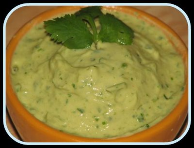 Simple, but wonderful avocado dip