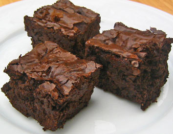 Simple Fudge Brownies