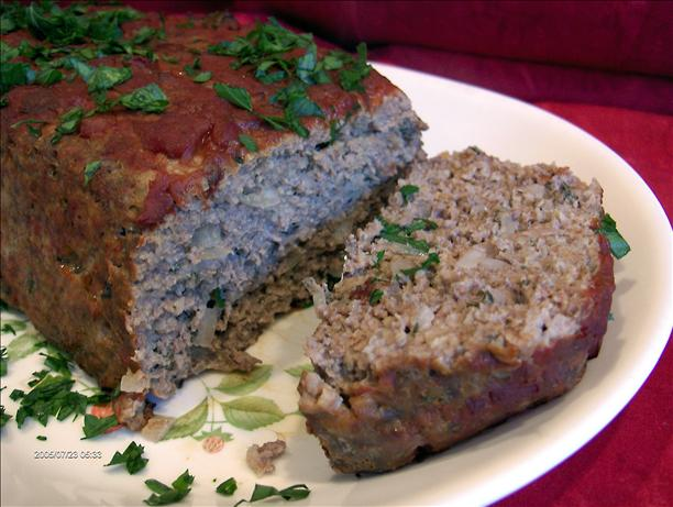 Simple Ranch House Meatloaf