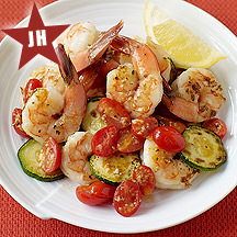 Simple Shrimp And Zucchini Saute