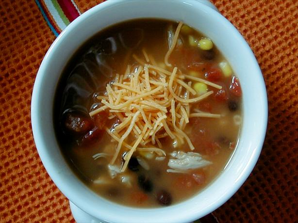 Six Can Chicken Tortilla Soup - Recipegreat.com