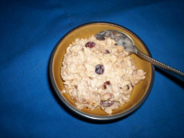 Skiers Swiss Cereal (Rainy Day Breakfast)