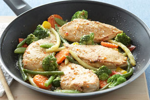 Skillet Chicken and Vegetables
