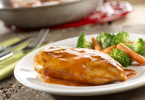 Skillet Sweet and Tangy Chicken