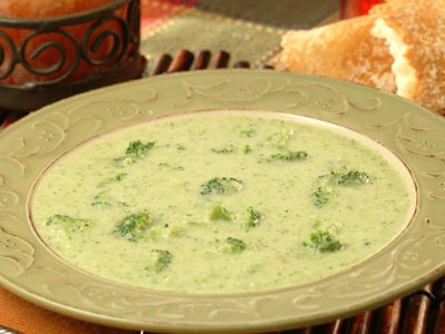 Slow Cooker Cream of Broccoli Soup