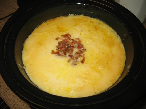Slow Cooker Potatoes Au Gratin by Kim