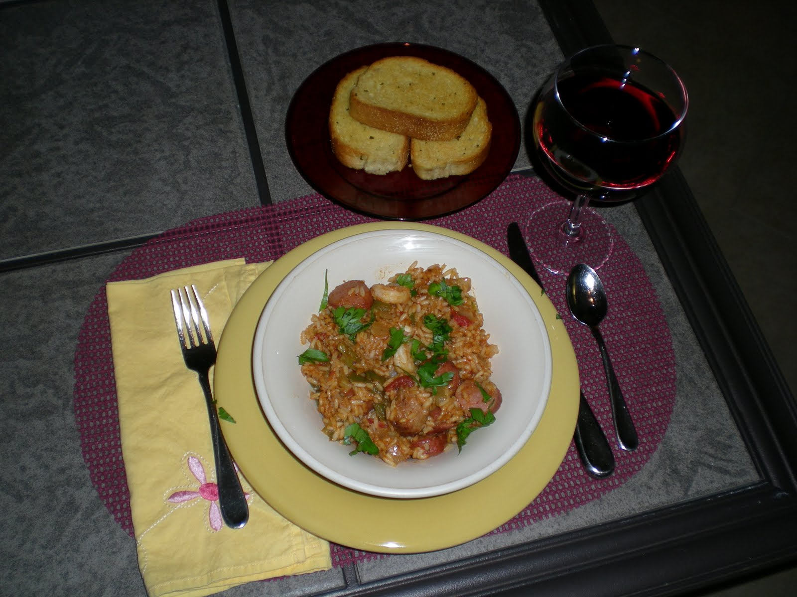 Smoked Sausage and Shrimp Jambalaya