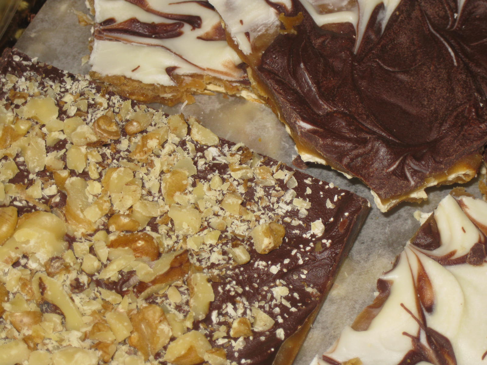 Soda Cracker Buttercrunch