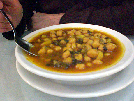 Sopa De Garbanzos - Chickpea Soup