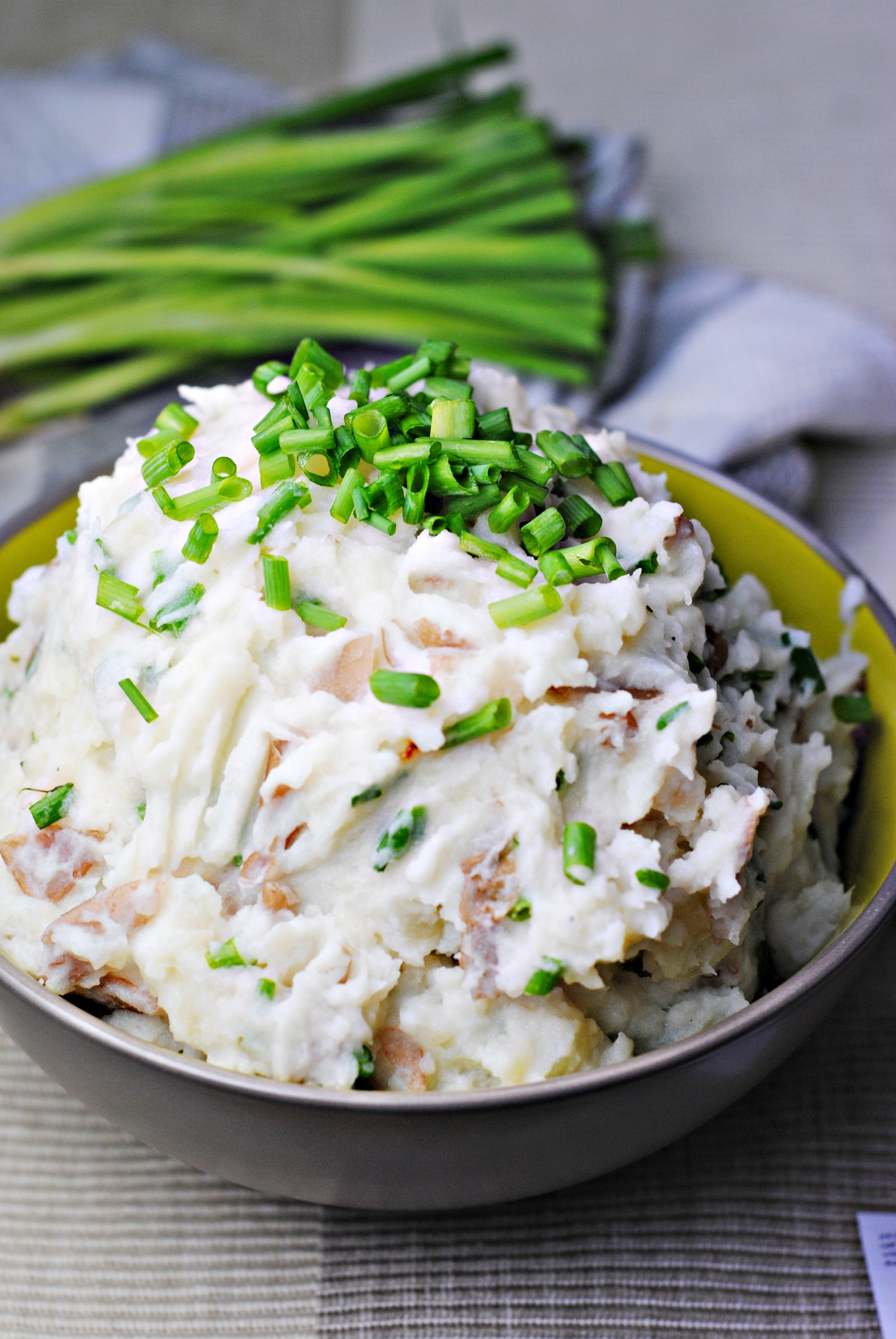 Sour Cream & Scallion Mashed Potatoes