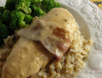 Sour Cream and Bacon Crockpot Chicken