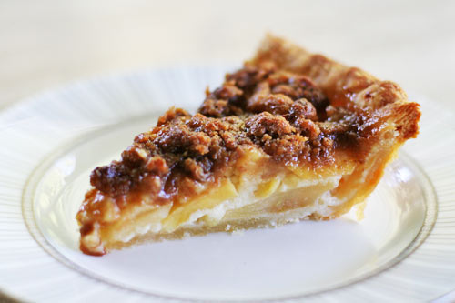 Sour Cream Apple Pie II