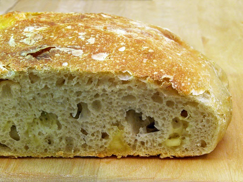 Sourdough Cheese Bread