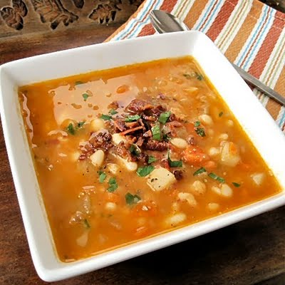 South Beach Chipotle Bean Soup