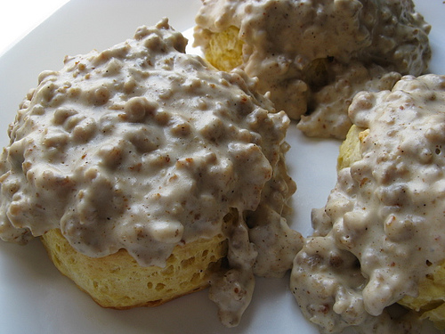 Found photos of Southern Sausage Gravy