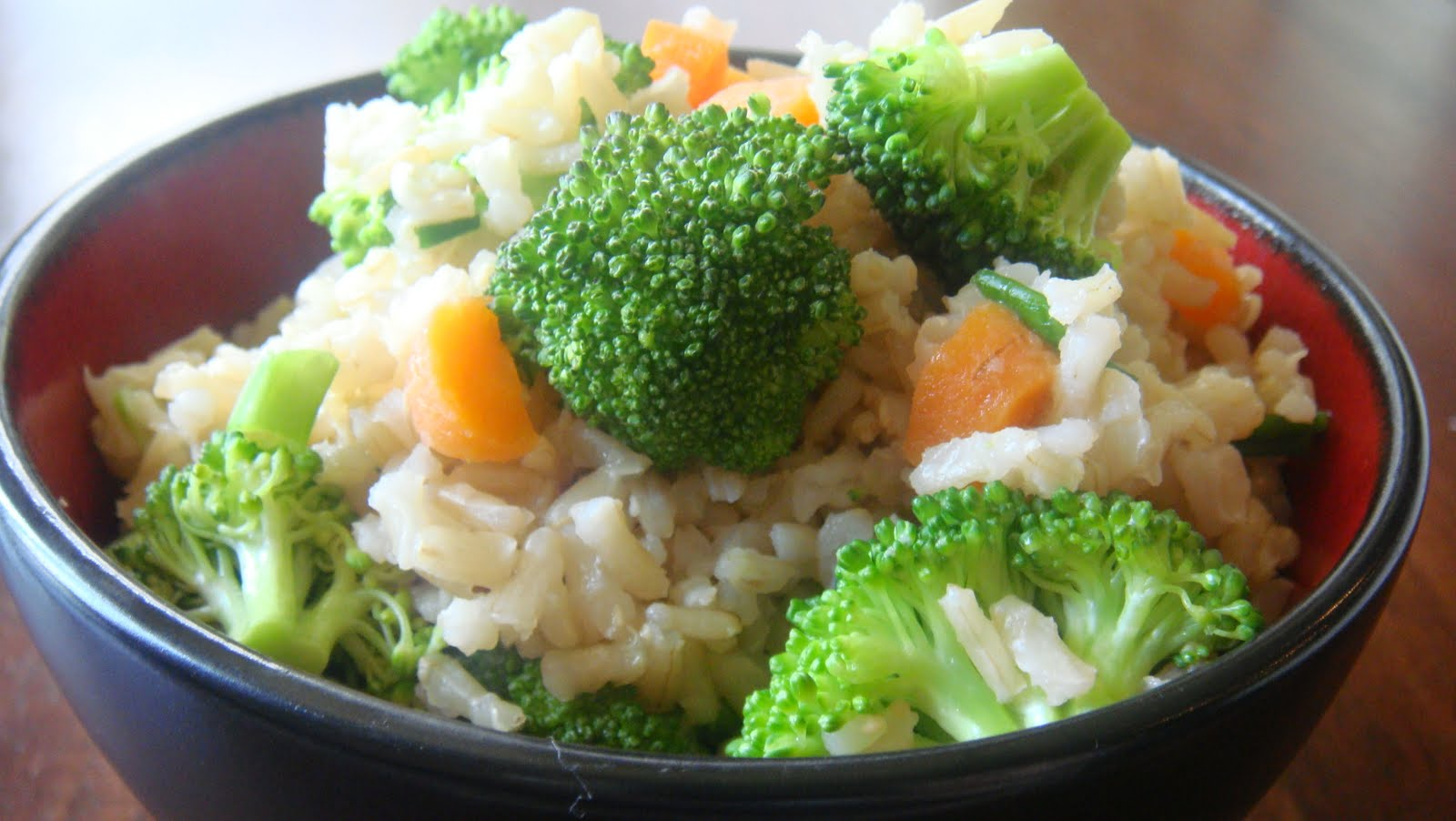 Southwest Veggies over Brown Rice
