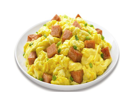 Spam Scrambled Eggs