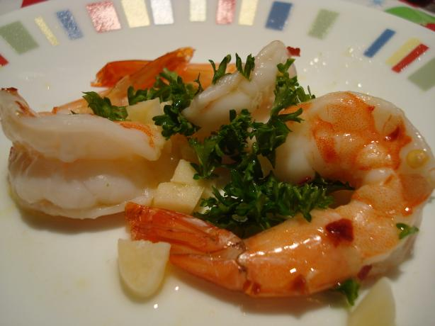 Spanish Baked Shrimp