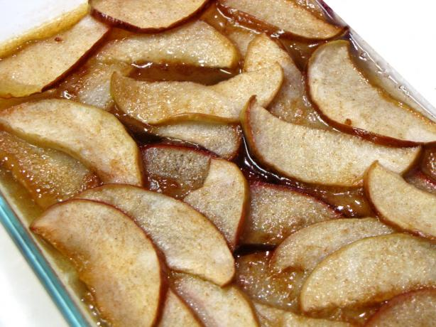 Spiced Apple Slices for Two