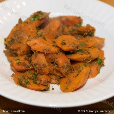 Spiced Carrots
