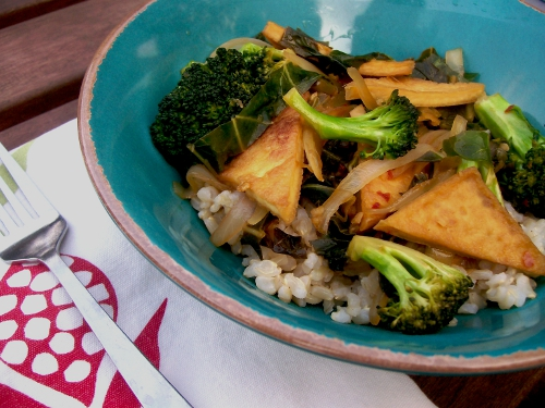 Spiced Orange Broccoli