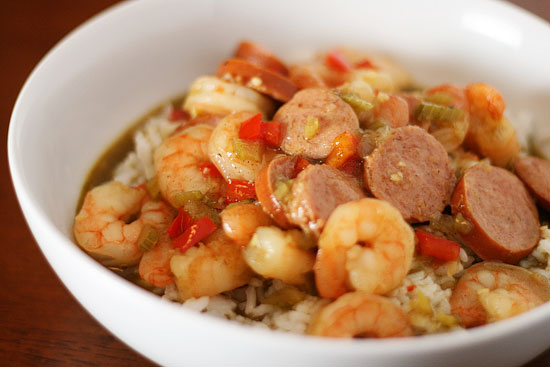 Spicy Bean and Sausage Gumbo