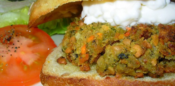 Spicy Chilli Bean Burgers