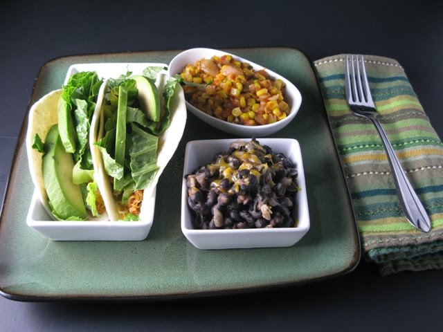 Spicy Corn and Black Beans