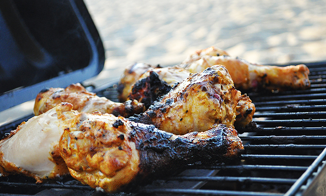 Spicy Indian Grilled Chicken - Recipegreat.com
