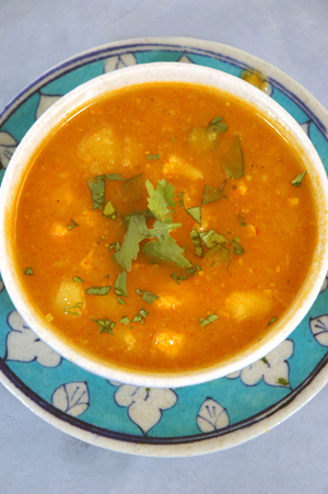 Spicy Potato Soup