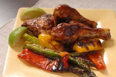 Spicy Southern Barbecued Chicken