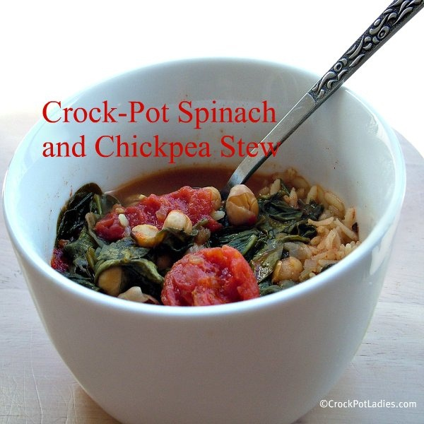 Spinach and Chickpea Ragout