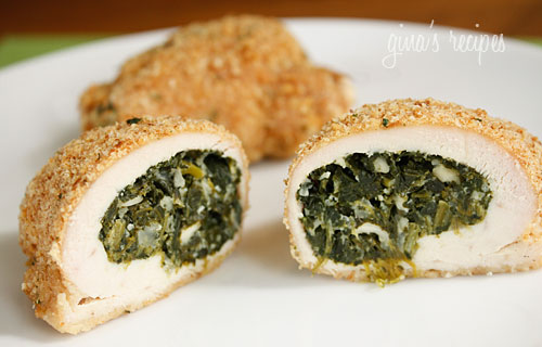 Spinach and Feta Stuffed Chicken Breasts