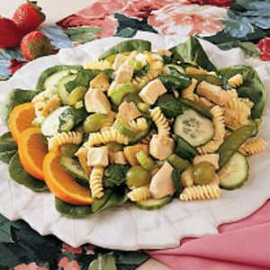 Spinach Chicken Salad