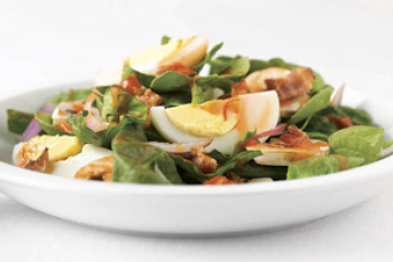 Spinach Salad Flambe